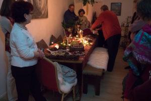 Weihnachtsfeier in den Seminarräumen